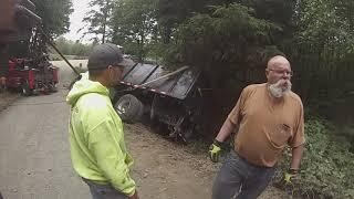 Download DUMP TRUCK OVER EMBANKMENT Video