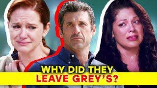 Download The Real Reasons Why Main Characters Left Grey's Anatomy | ⭐OSSA Video
