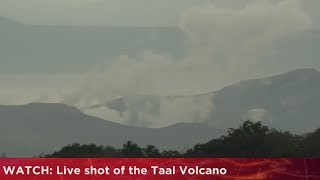 Download WATCH: Live shot of the Taal Volcano (23 January 2020) Video
