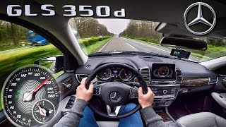 Download Mercedes Benz GLS 350d ACCELERATION & TOP SPEED AUTOBAHN POV by AutoTopNL Video