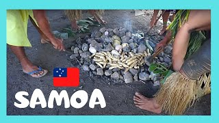 Download SAMOA, cooking delicious food in an EARTH OVEN or UMU (PACIFIC OCEAN) Video