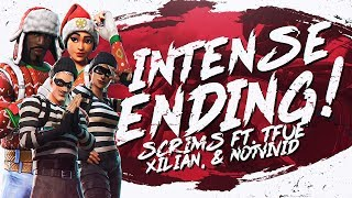Download MOST INTENSE ENDING! Squad Scrims ft. Tfue, NotVivid & Xil (Fortnite BR Full Match) Video