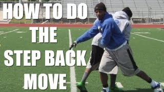 Download Wide Receiver Step Back Move with Stevie Johnson Video