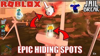 Download WEIRD HIDING SPOTS | 1v3 HIDE and SEEK PART 2 | Roblox Jailbreak Video
