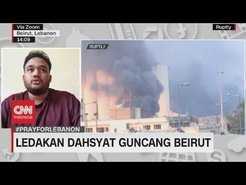 Ledakan Dahsyat Guncang Beirut