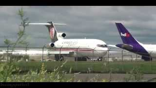 Download Powerful takeoff!! CargoJet Boeing 727 @ Ottawa Airport Video