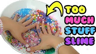 Download TOO MUCH STUFF SLIME CHALLENGE!!! (ALL INGREDIENTS) | Toy Caboodle Video