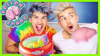 Download MAKING HOMEMADE COTTON CANDY! Video