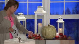Download Luminara Heritage Indoor Outdoor Lantern with Flameless Candle & Remote on QVC Video