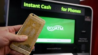 Download How Much Will Eco Atm Machine Give Me for 24K Gold iPhone? Video