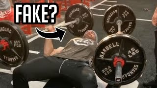 Download Bradley Martyn Accused of Using Fake Weights Video