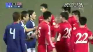 Download North Korea disturbs a Japanese national anthem by booing. Video