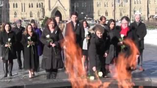 Download Video: Trudeau marks Polytechnique massacre anniversary Video