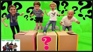 Download Don't Jump In The Wrong Mystery Box / That YouTub3 Family Video