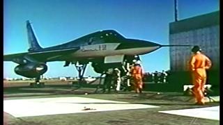Download B-58 Hustler First Test Flight in Restored Color - 1956 Video