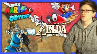 Download Super Mario Odyssey vs Breath of the Wild   Battle of the Masterpieces (Spoilers) - Scott The Woz Video