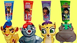 Download Disney Jr. LION GUARD Finger Bath Paint and Paw Patrol Video