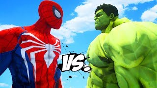 Download THE HULK VS SPIDERMAN (PS4) - EPIC SUPERHEROES BATTLE Video