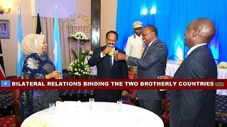 Download SOMALI PRESIDENT MOHAMED FARMAJO - OFFICIAL VISIT TO KENYA + JOINT PRESS CONFERENCE WITH PRES. UHURU Video