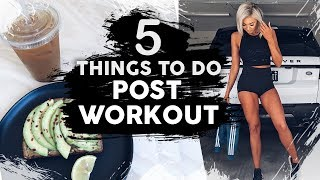 Download 5 Things to Do AFTER Your Workout Video