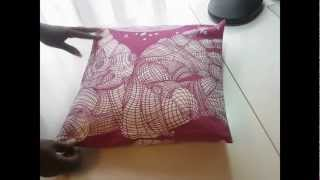 Download The World's Easiest Cushion Cover! Video