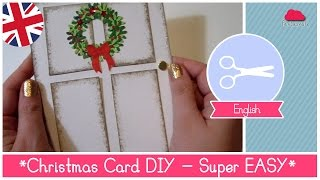 Download Tutorial Christmas Card DIY idea: super EASY and STUNNING RESULT Video