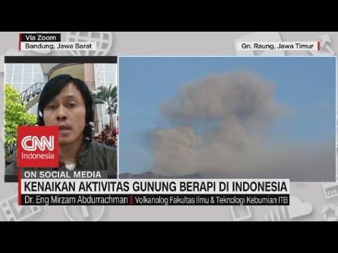 Kenaikan Aktivitas Gunung Berapi di Indonesia