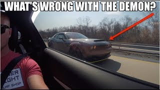 Download Dodge Demon owner can't believe he LOST to a STOCK AMG C63! (Even I was shocked LOL) Video