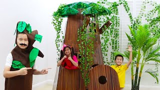 Download Emma and Andrew Pretend Play How to Save the Environment Video
