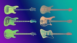 Download Famous Bass guitars sound comparison. Guitarbank session Video