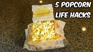 Download 5 Popcorn Life Hacks Video