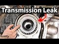 Download How to Fix a Transmission Leak in Your Car (Axle Seal) Video