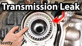 Download Fixing Transmission Leaks Video