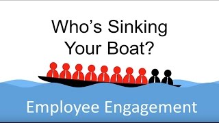 Download Employee Engagement - Who's Sinking Your Boat? Video