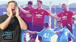 Download Manchester United vs. James Corden & 100 Kids Video