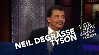 Download Neil deGrasse Tyson Puts Earth's Smallness Into Perspective Video