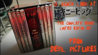 Download A Quick Look At... Guinea Pig Complete Series Limited Edition (Devil Pictures) Video