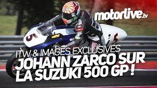 Download EXCLUSIF | Zarco sur la Suzuki 500 GP actions et réactions… Video