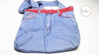 Download Buki | Bags With Old Jeans Part 5 | Eski Kottan Çanta Yapımı 5.Bölüm Video