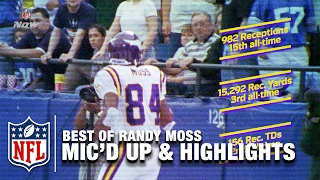 Download Best of Randy Moss Mic'd Up & Career Highlights | Happy 40th Birthday Randy Moss! | NFL Video