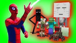 Download Monster School: Superhero Spiderman | Hulk | Star Wars Boys vs. Girls | (Monster School Compilation) Video