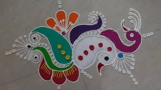 Download Diwali Special - Freehand Rangoli Design Video