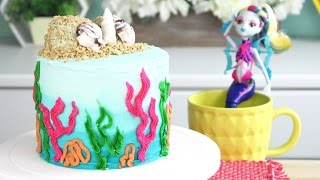 Download How to Make a Monster High Beach Cake! Video