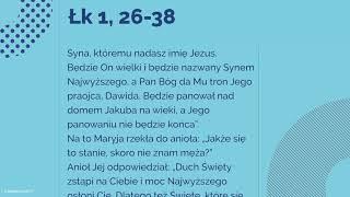 Download #Ewangelia   22 sierpnia 2018   (Łk 1, 26-38) Video