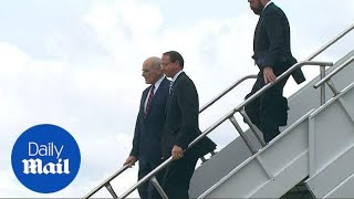 Download Rosenstein departs from Air Force One after meeting with Trump Video