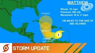 Download Hurricane Matthew in the Caribbean - Update 1 (09/30/2016) Video
