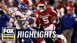 Download Kansas vs. Oklahoma | FOX COLLEGE FOOTBALL HIGHLIGHTS Video