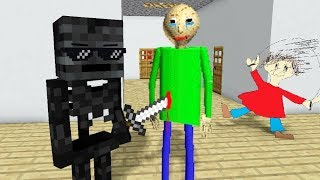 Download Monster School : BALDI'S BASICS HORROR CHALLENGE - Minecraft Animation Video