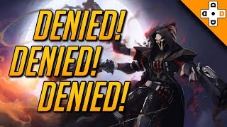 Overwatch Fails - Embarrassing Deaths! Funny Overwatch Deaths Free