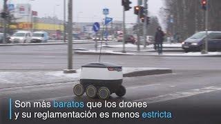 Download Los robots repartidores son una realidad en Estonia Video